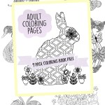 Adult Coloring Pages Free 9 Page Printable Book