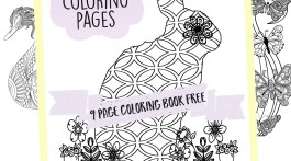 Adult Coloring Pages Free Coloring Book 9 Printable Pages of Spring Themed Designs
