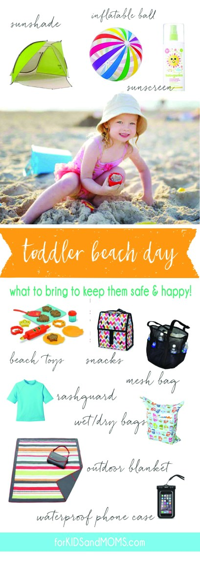 What To Bring The Beach Toddler Vacation Checklist Forkidsandmoms