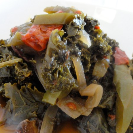 Slow Cooker Kale