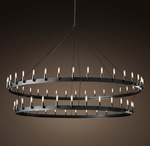 """Camino Two-Tier 72.25"""" Chandelier"""