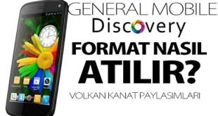 General Mobile Discovery format atma