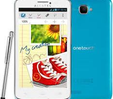 Alcatel One Touch Scribe Format Atma