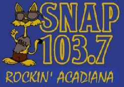Snap 103.7 Classic Rock KLWB-FM Lafayette KOGM