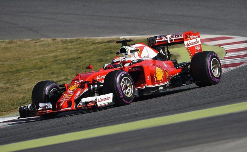 Forza Kimi! Finländaren toppar första dagen av Kinas GP