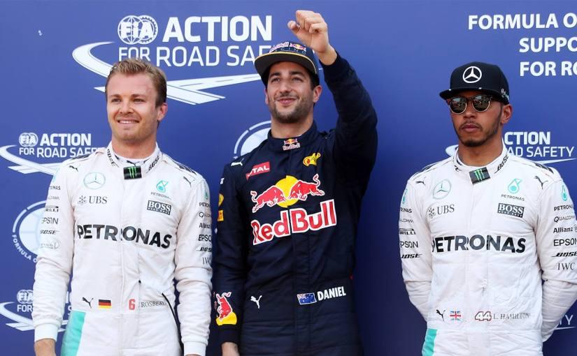 Kvalresultat Monacos GP – Ricciardos första pole