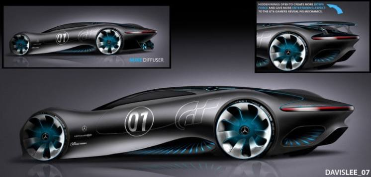 Huey Lee On The Mercedes Benz Amg Vision Gran Turismo Form Trends