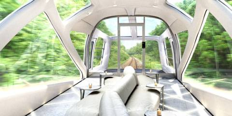 JR East Cruise Train by Ken Okuyama