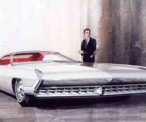 Cadillac DeVille proposal by Wayne Kady (1965)