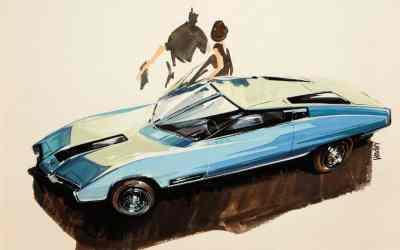Concept car by Ken Vendley (1959)