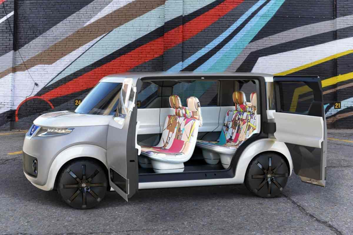 Nissan's Teatro for Dayz Concept for 'Digital Natives'