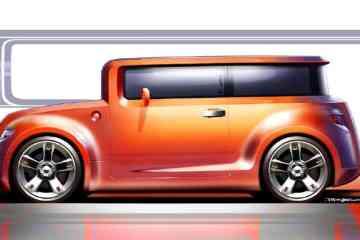 Scion Hako concept sketch (2008)