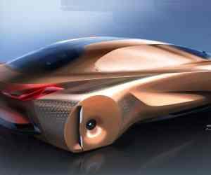 BMW Vision Next100 concept sketch