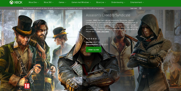 Assassins Creed Syndicate Xbox