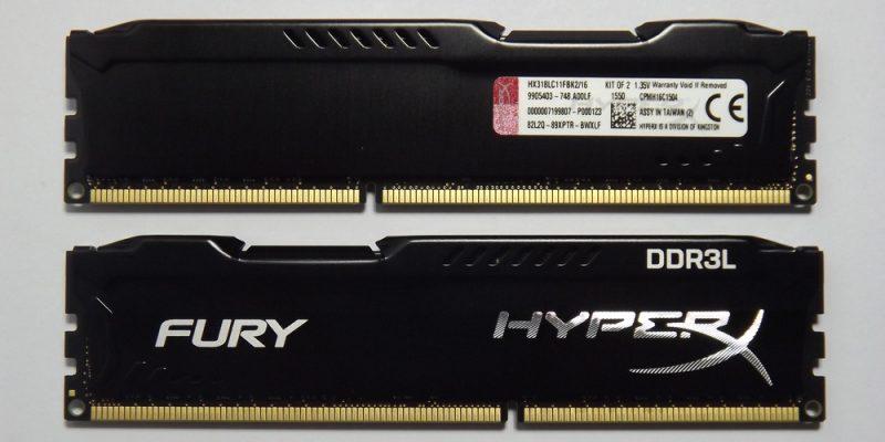 Kingston HyperX Fury DDR3L 1866MHz CL11 Análisis 1