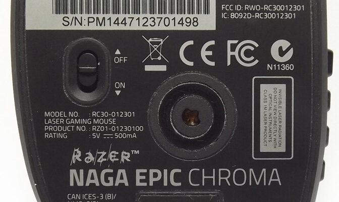 Razer Naga Epic Chroma Análisis 5