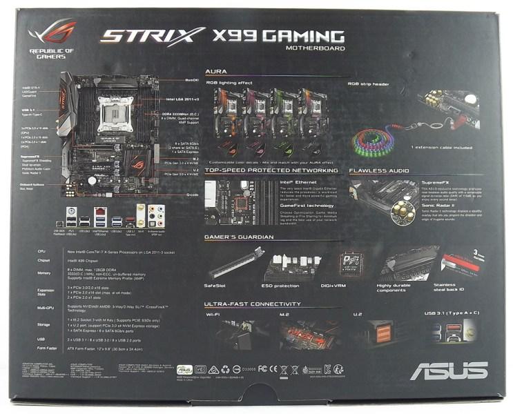 ASUS ROG Strix X99 Gaming Unboxing 2