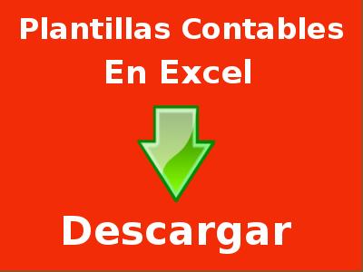 Plantillas Contables en Excel