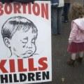 cartel contra el aborto en ingles