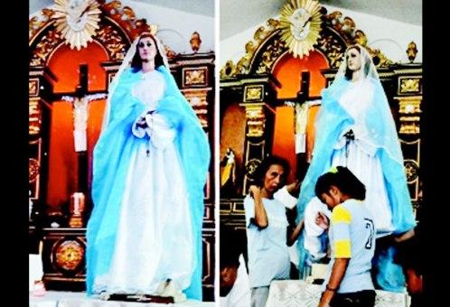 virgen del rosario en filipinas