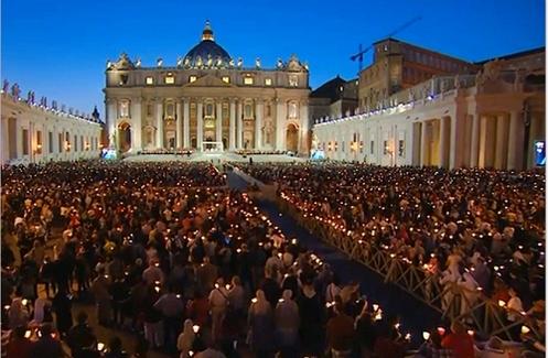 vigilia de oracion por el sinodo de la familia