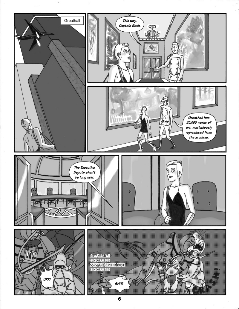Forsaken Stars Issue Three, Page 6
