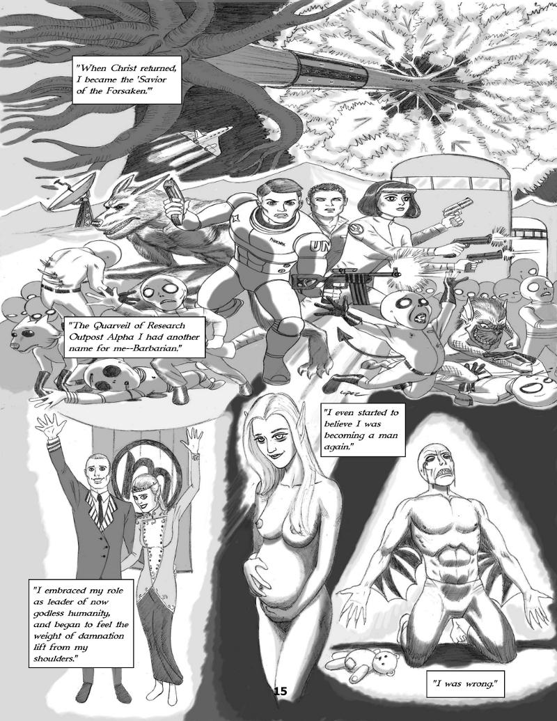 Forsaken Stars Issue Three, Page 15
