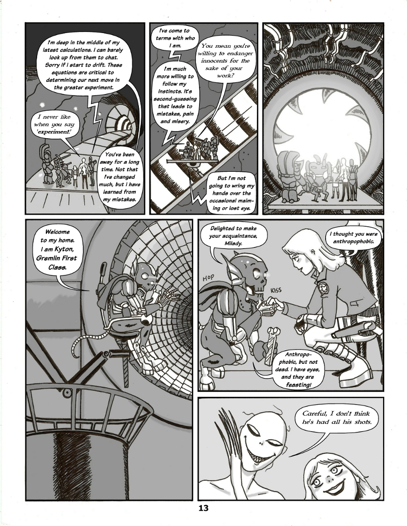 Forsaken Stars Issue Four, Page 13