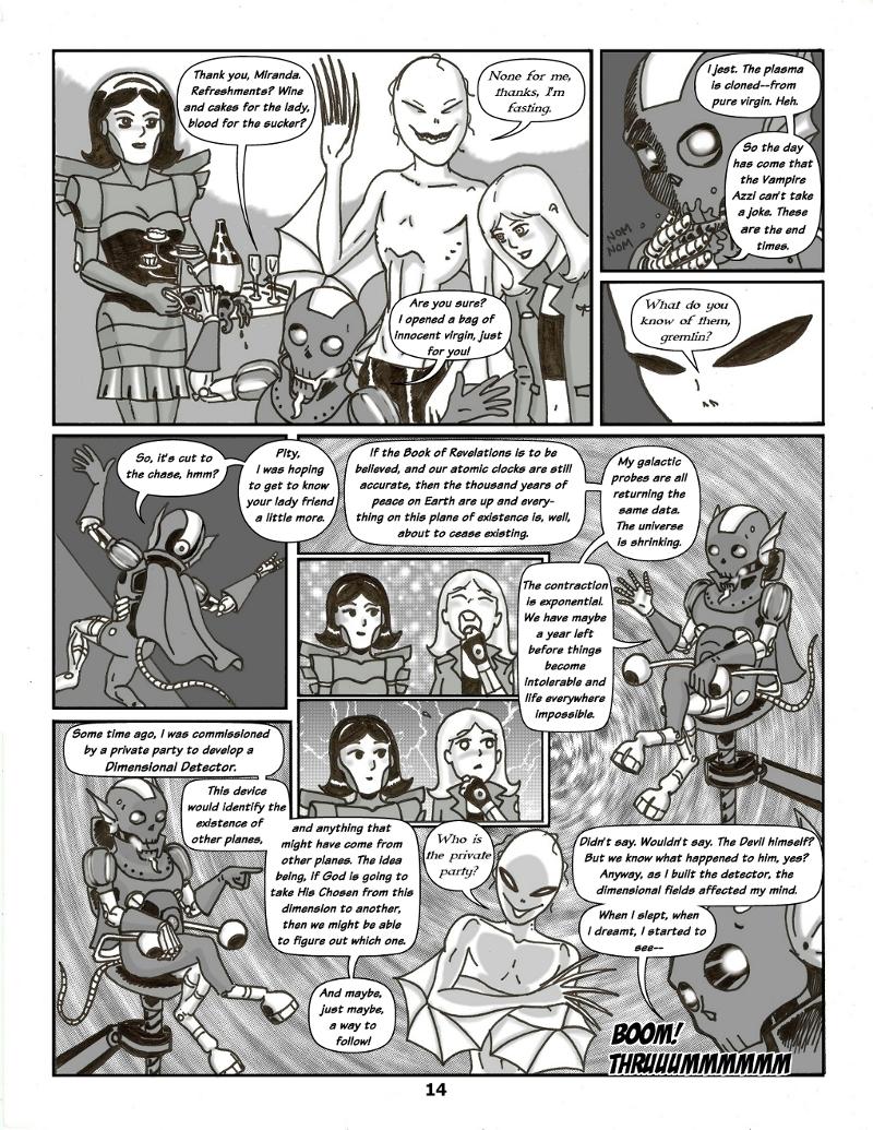 Forsaken Stars Issue Four, Page 14