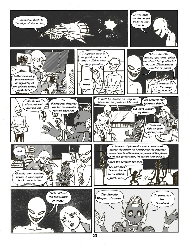 Forsaken Stars Issue Four, Page 23
