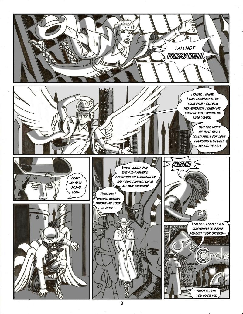 Forsaken Stars, Issue Five Page 2