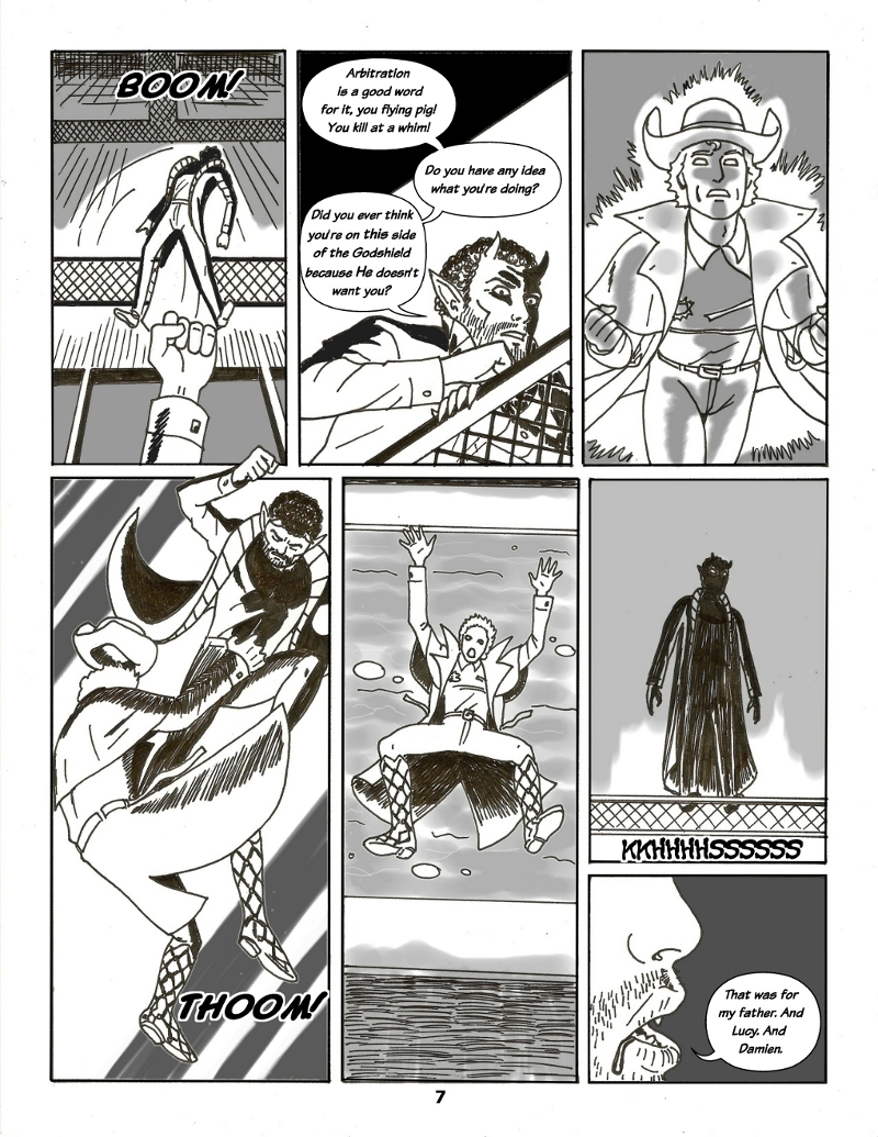Forsaken Stars Issue Five, Page 7