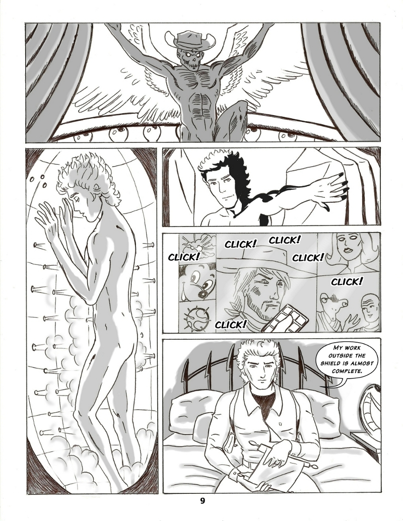 Forsaken Stars Issue Five, Page 9