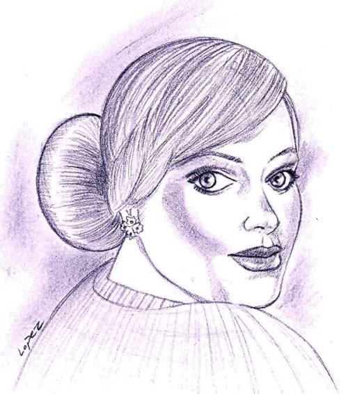 Adele Sketch 8-4-11