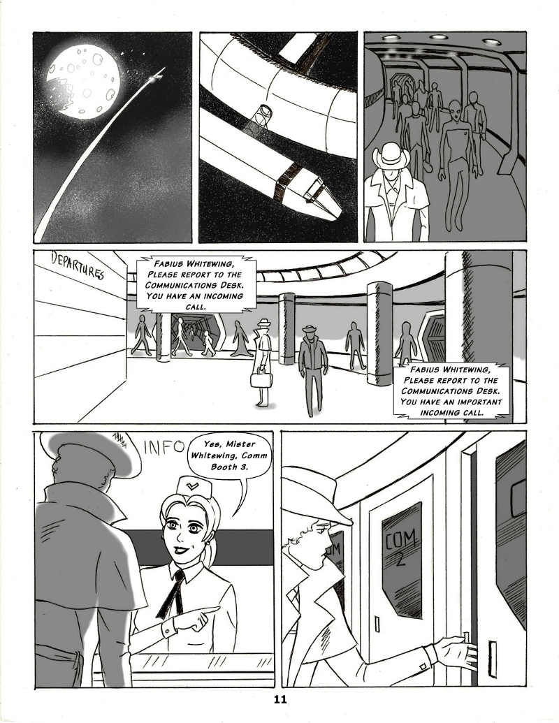 Forsaken Stars Issue Five, Page 11