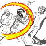 insta 6 Sword Fire Rider FIRE