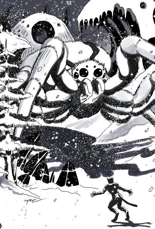 Along Came A Snow Spider