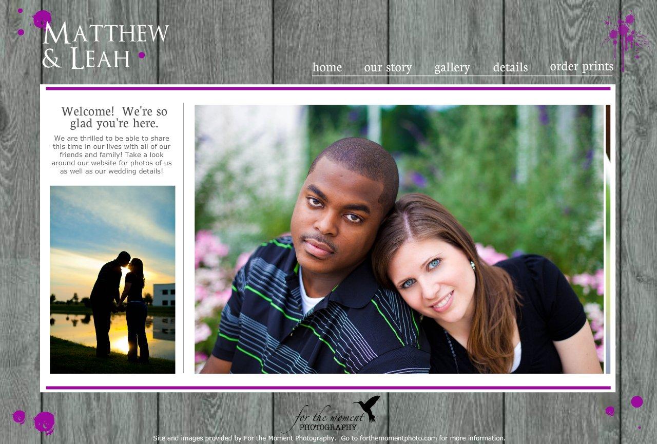 Fullsize Of Wedding Website Examples