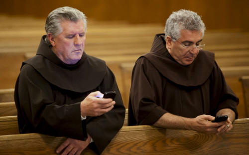 Texting-in-church
