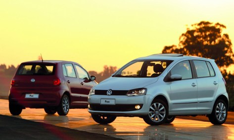 VW Fox: 18.801 patentamientos en 2012.