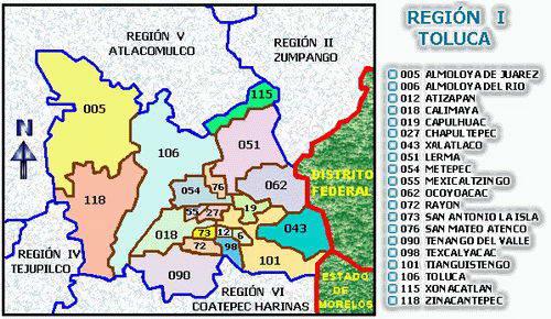 map toluca