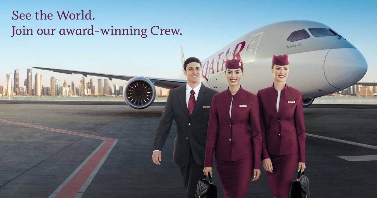 [Jakarta] Qatar Airways Cabin Crew Recruitment November 2015