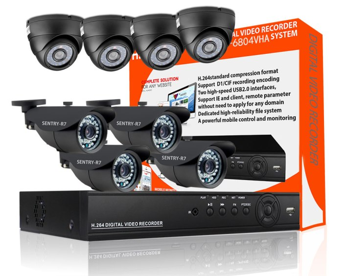 4 dome 4 indoor-Outdoor Security CCTV Camera
