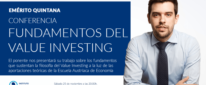Conferencia – Fundamentos del Value Investing: un enfoque empresarial