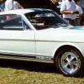A 1965 Shelby GT350 -- taking the stock Mustang fastback and adding performance improvements, Carroll Shelby made a classic even moreso. (Photo by Lars-Göran Lindgren Sweden - Own work. Licensed under CC BY-SA 3.0)