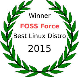 FOSS Force Best Distro 2015