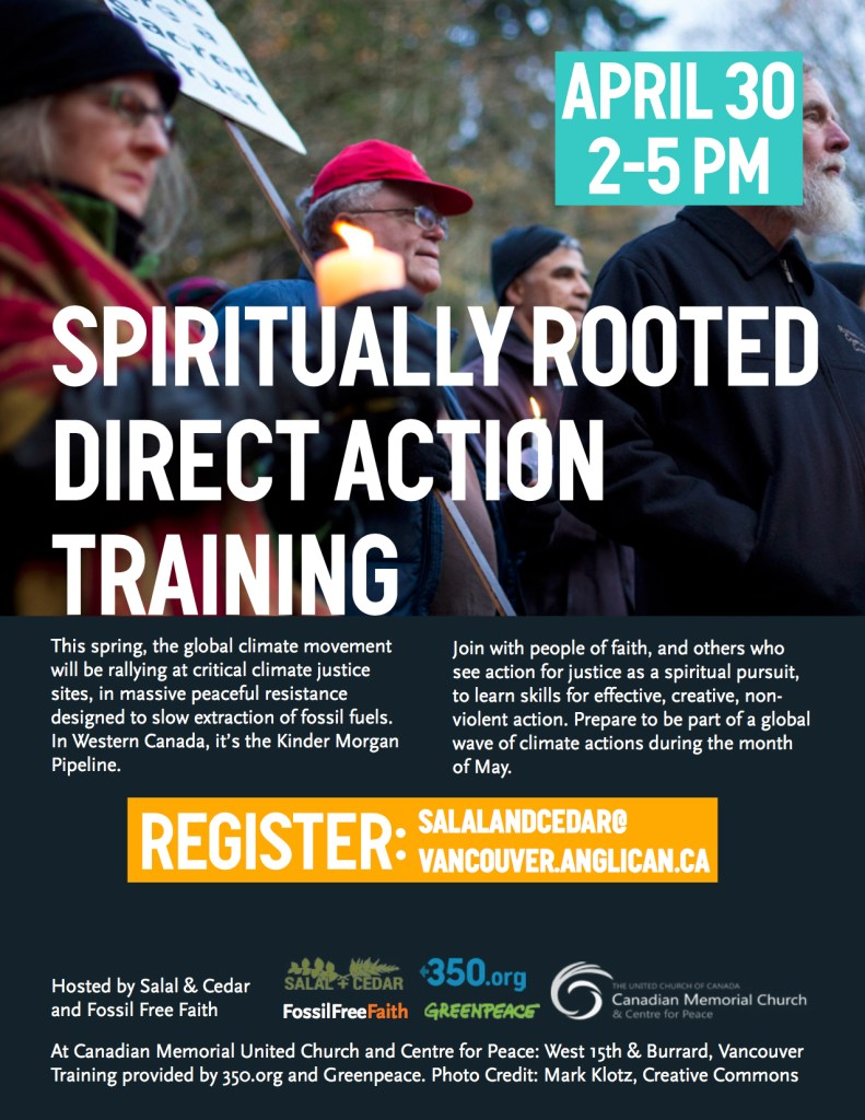 April 30 NV Direct Action Training - Poster