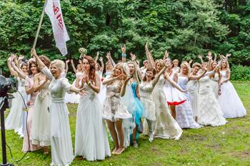 19-й Парад невест. Фото Николая Ефремова