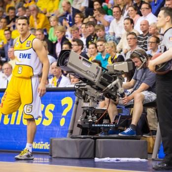 Beko BBL,Playoffs 5.Hf, EWE Baskets - ratiopharm Ulm , Niedersachsen, DEU, 2013,