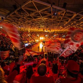 20.02.2016 Beko BBL Top Four 1.Halbfinale: Brose Baskets - FC Bayern München